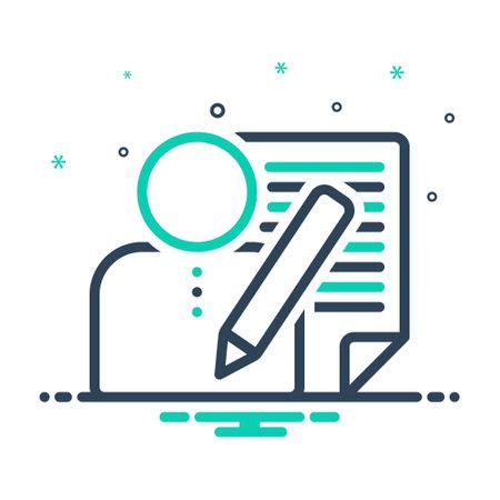 Icon for editors,author