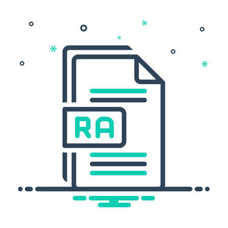 Icon for ra,raw