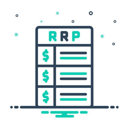 Icon for rrp,paper