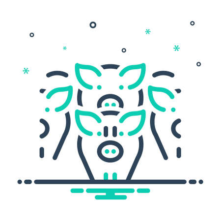 Icon for drove,herd