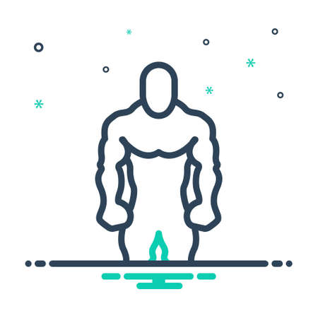 Icon for broader,fitness