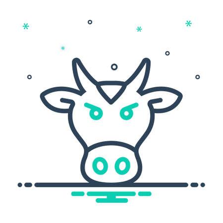 Icon for beast,animal Illustration