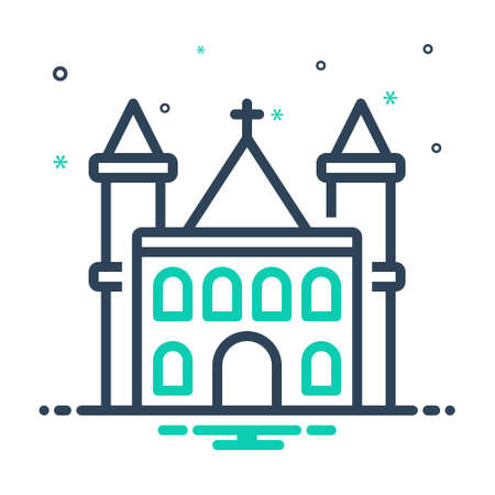 Icon for parish,church