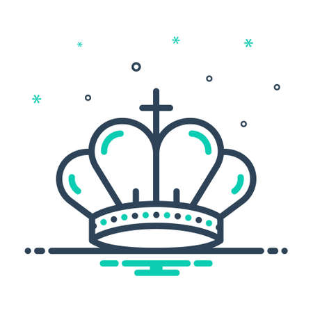 Icon for crown,diadem