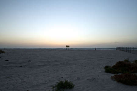 a portion of a beach im Umm al Quwain, about 40 minutes drive from Dubai. Stock Photo