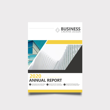 Brochure voor jaarverslag