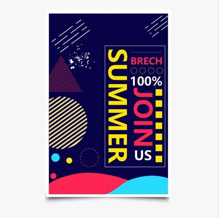 Sommer Beach Party Standard-Bild - 83276664