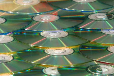 cd scattered background