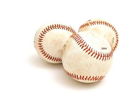 3 baseballs