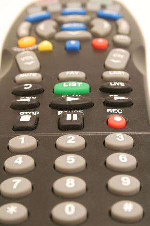 remote control upclose photo
