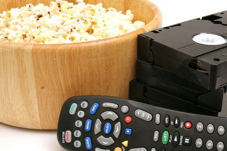 popcorn & video wremote control vhs photo