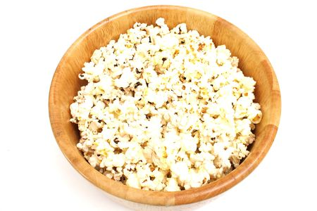 popcorn on top Stock Photo
