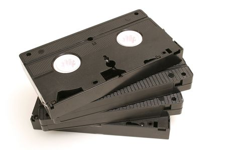 spread out video tapes