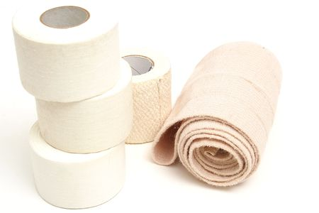 sports bandages on top