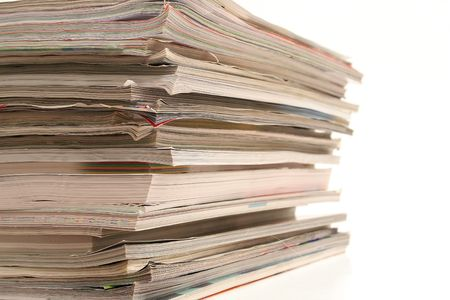 stack of magazines angle Imagens - 755888
