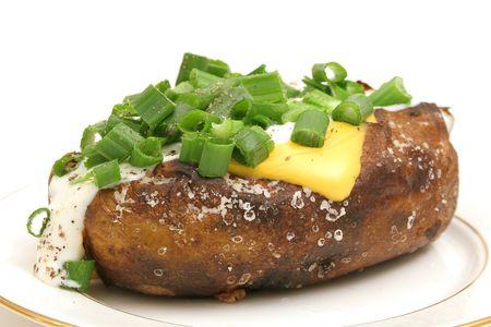 loaded: loaded baked potato