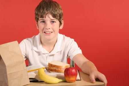 school lunch Reklamní fotografie - 802158