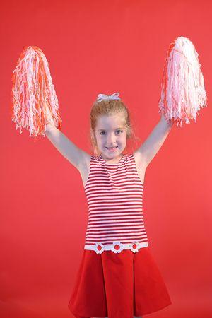cheerleader girl vertical photo