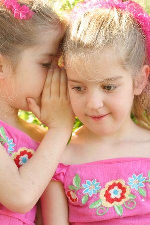 soeur jumelle: soeur jumelle partage un secret verticale
