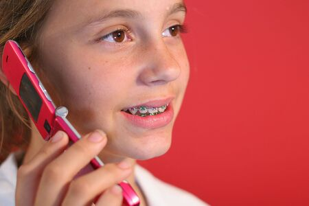 girl on cell phone