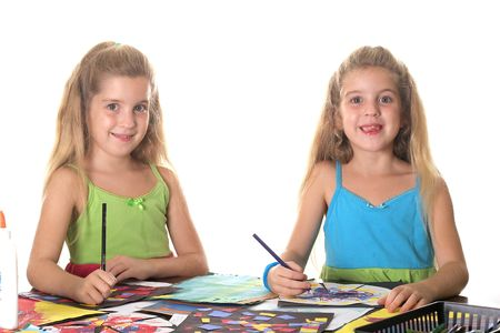 sisters arts & craft smile Imagens
