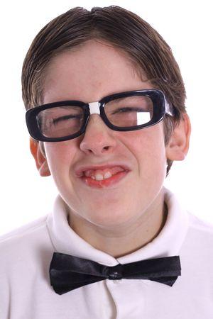 goofy nerd portrait smile Reklamní fotografie - 2256016