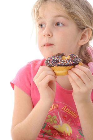 dilema: doughnut dilema Stock Photo