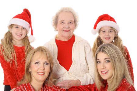 great grandmother: Cuatro generaciones felices fiestas