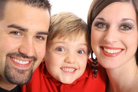 gorgeous family portrait photo