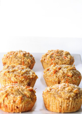 Apple Carrot Muffins  Imagens