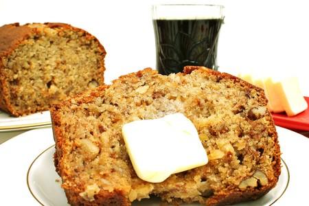 banana bread breakfast