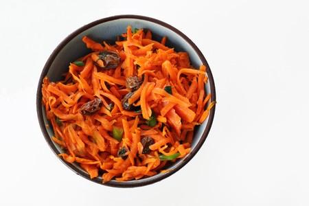 curried carrot raisin salad