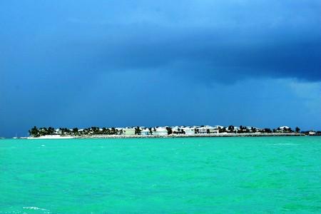 island storm Reklamní fotografie