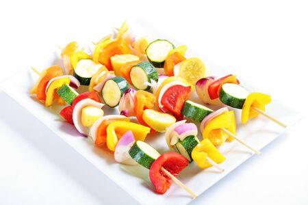 vegetable kabobs