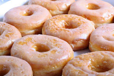 glazed: glazed doughnuts