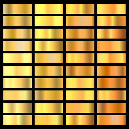 Abstract Gold background texture design for frame, ribbon, coin, abstract.  vector icon for seamless pattern. Light, realistic, elegant, shiny, metallic and golden gradient for frame, ribbon, coin Illustration
