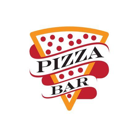 Pizza Bar or Pizza Restaurant logo design