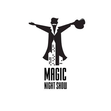 Magic Night show Host logo