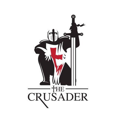 Crusader or Knight Templar logo