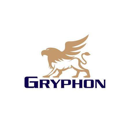 Gryphon vector illustrationfor commercial use  イラスト・ベクター素材