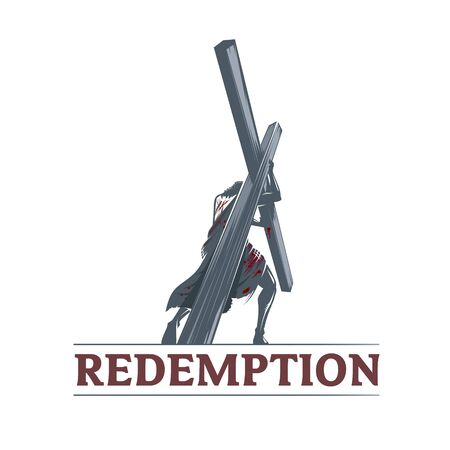 Redemption illustration vector for commercial use