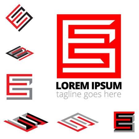 EG letter based monogram symbol vector format. for brand, corporate identity, design elemen symbol, or any other purpose.