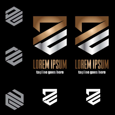 DC and DE monogram symbol concept vector set for design element, ideas, brand, identity, or any other purpose.