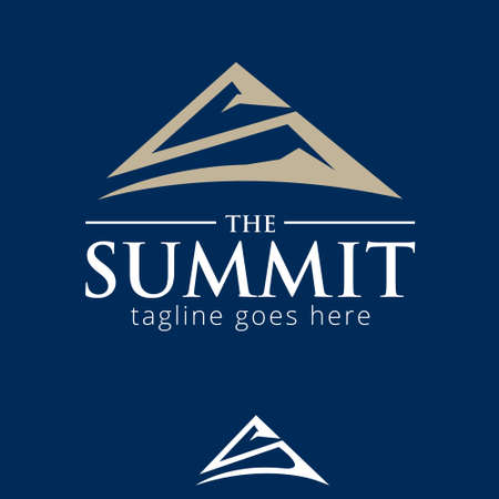 S letter based the Summit symbol vector concept for brand, identity, design element or any other purpose.
