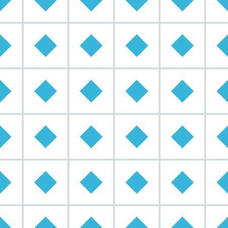 rhomb: Rhomb vector seamless pattern. Rhombus seamless texture. Geometric seamless pattern with rhombs. Rhombic vector wallpaper design. Rhombus seamless pattern. EPS8 vector illustration with Pattern Swatch