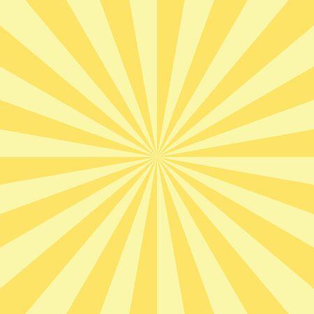 burst background: Abstract radial sun burst background. Retro style circular light scattered behind. Vector illustration.