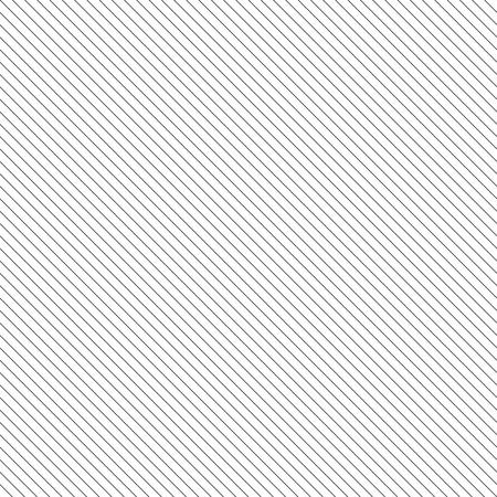 대각선 줄 지어 원활한 패턴입니다. 흰색 배경에 검은 색 얇은 평행 한 직선과 질감을 반복합니다. 벡터 일러스트 레이 션.