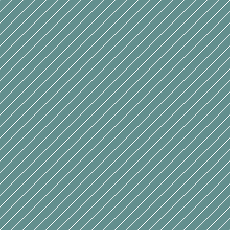 tint: Diagonal lined seamless pattern. Repeating texture with white thin parallel straight lines on green tint background. Vector illustration. Illustration