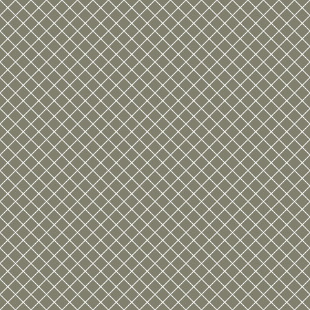 perpendicular: Intersecting perpendicular lined seamless pattern. Repeating mesh texture with white crossing lines on brown tint background. Grid checkered vector illustration. Illustration