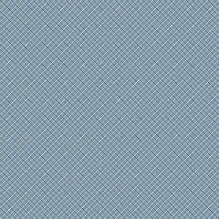 perpendicular: Intersecting perpendicular lined seamless pattern. Repeating mesh texture with white crossing lines on blue tint background. Grid checkered vector illustration. Illustration